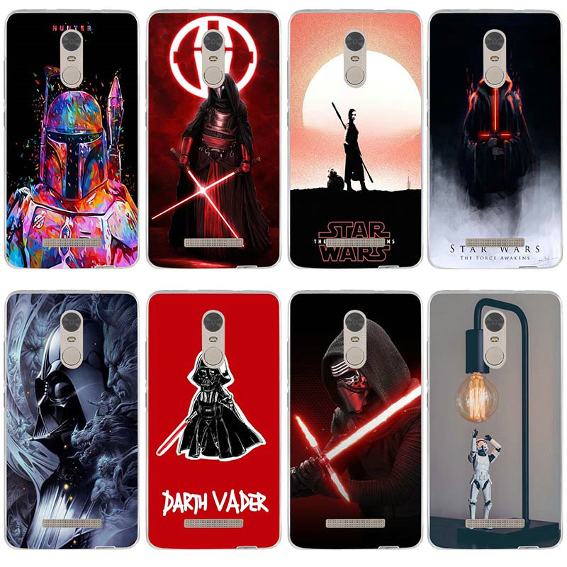 Fashion <font><b>Star</b></font> <font><b>Wars</b></font> Art For <font><b>Xiaomi</b></font> <font><b>Redmi</b></font> Mi <font><b>Note</b></font> 2 3 3S 4X 4A <font><b>6</b></font> 5 5S 5A <font><b>6</b></font> 8 A1 <font><b>Pro</b></font> Plus Shell Silicone Soft TPU Mobile Phone Cases image