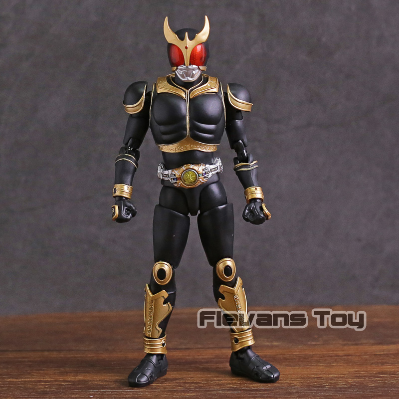 SHF S.H.Figuarts Masked Kamen Rider Kuuga Amazing Mighty Renewal Ver. PVC Action Figure Collectible Model Toy shf figuarts superman in justice ver pvc action figure collectible model toy