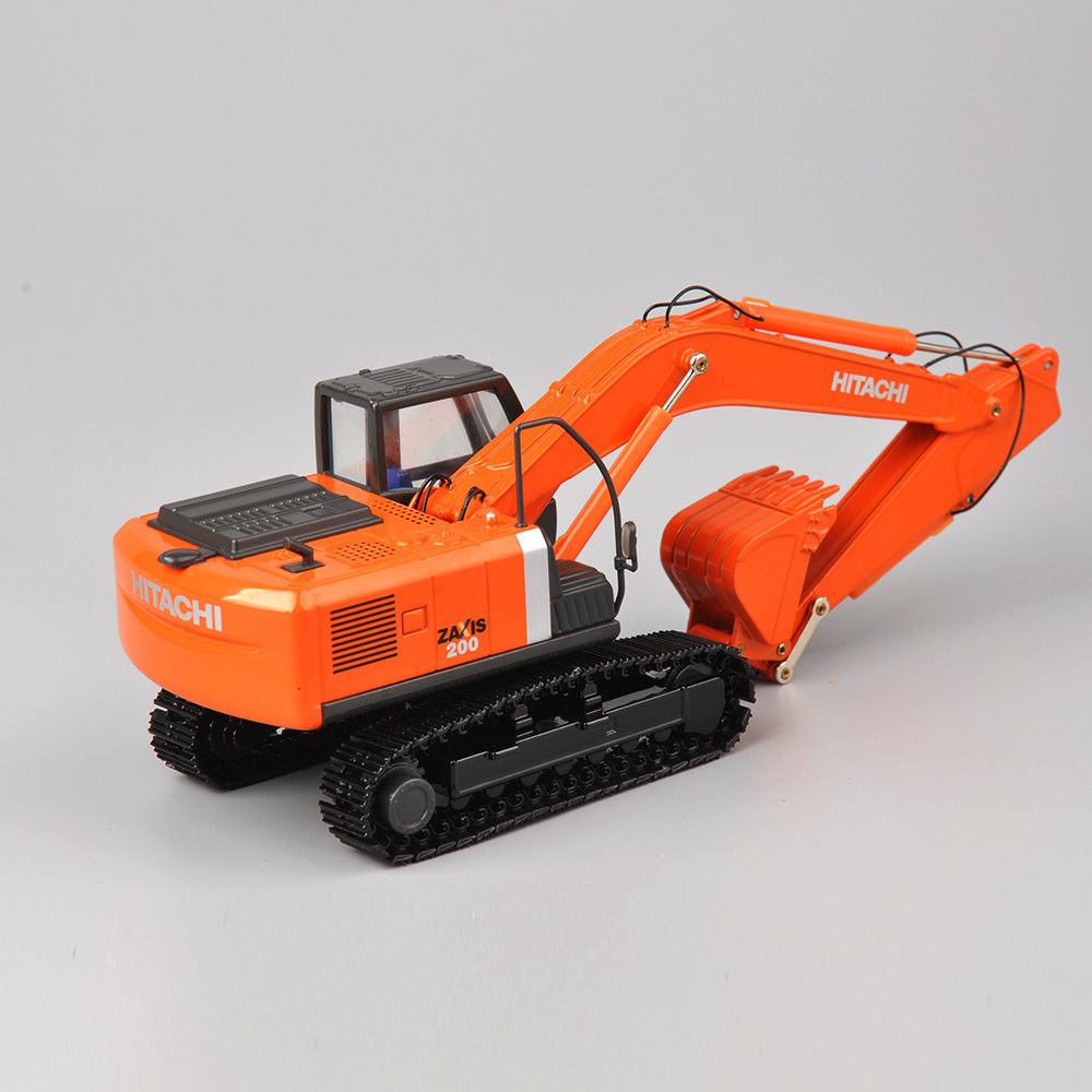 Hiachi 1/50 Scale Zaxis ZH200 Excavator Die-Cast Model Tracks Vehicle Toys Truck Car Vehicles Diecast Model Collection Diecast