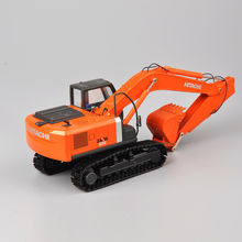 Hiachi 1/50 Scale Zaxis ZH200 Excavator Die-Cast Model Tracks Vehicle Toys Truck Car Vehicles Diecast Model Collection Diecast doosan dx160w wheeled excavator 1 50 scale diecast model uh8134