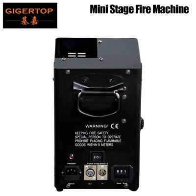 TIPTOP TP-T159 Mini scène flamme Machine 4 m DMX câble électrovanne à gaz bateau interrupteur US/EU/AU prise de courant Portable petite taille
