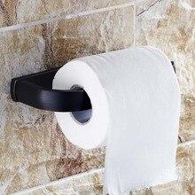 Новый Творческий Многофункциональный европейский стиль Масло Втирают Бронзовый Туалет рулонной Бумаги Держатель ткани стойку