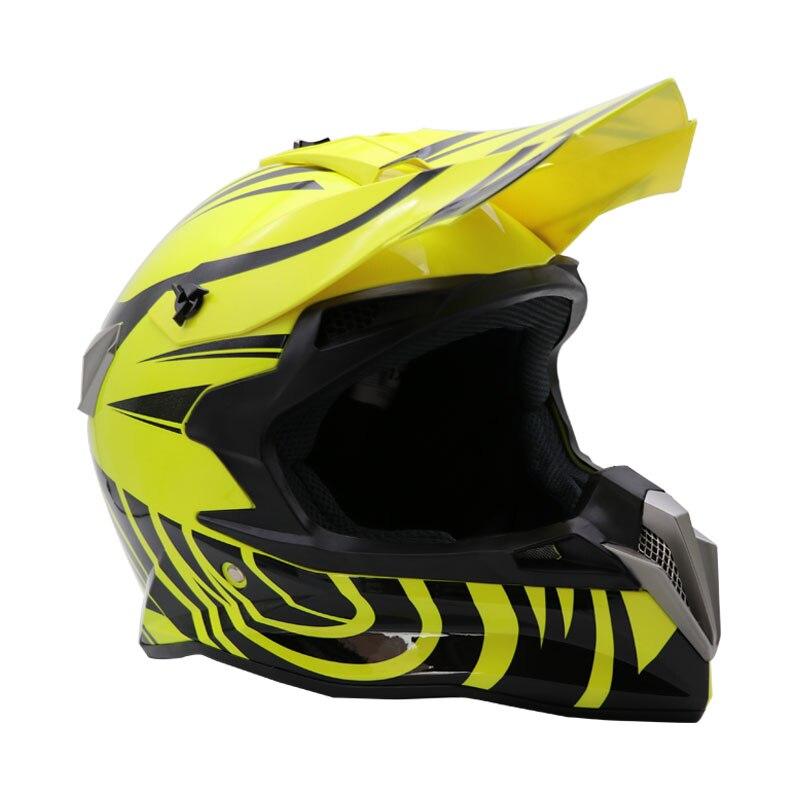 Ny modedesign Off-Road hjälm motocross hjälm professionell Downhill - Motorcykel tillbehör och delar - Foto 4