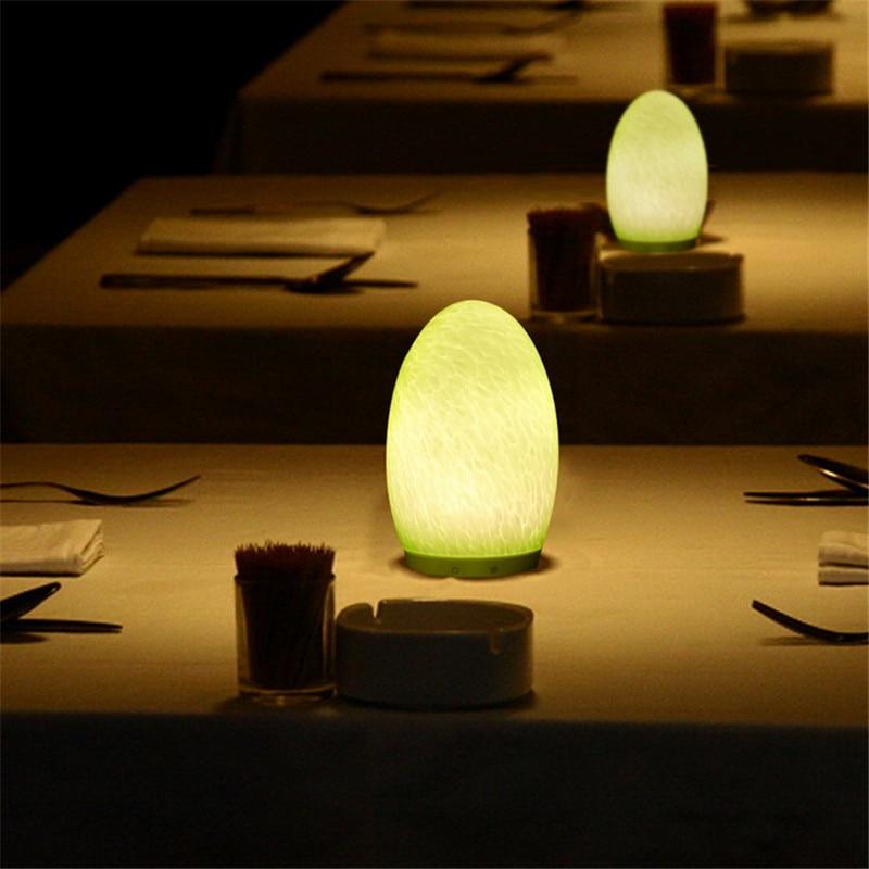 Capteur De Lampe Forme Contrôle Led Oeuf Tactile Opkiutzx Rgb Chevet bv7yf6gYI