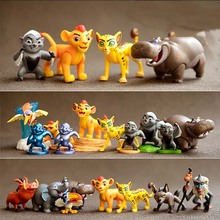 цена на New good quality Cute 1 piece high Simba Lion king Hyena Hippo  Monkey action toys, Simba animal doll for children gifts B519