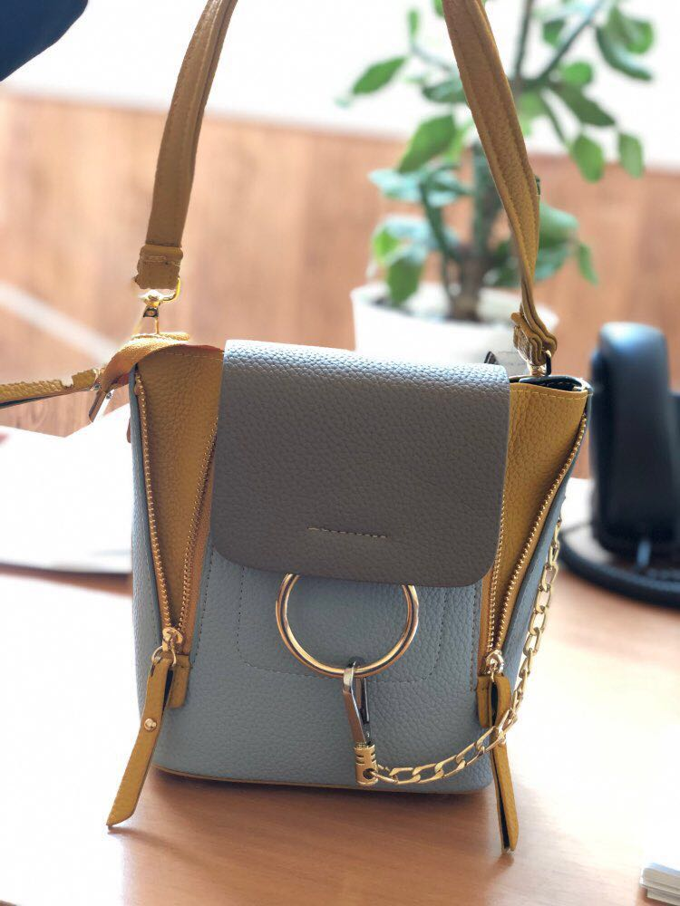 HTB1hOz5UNTpK1RjSZR0q6zEwXXa7 DORANMI Leather Women's Backpack Back Shoulder Bags 2019 Contrast Color Chain Rucksack Female Small Schoolbag Mochila Mujer B077