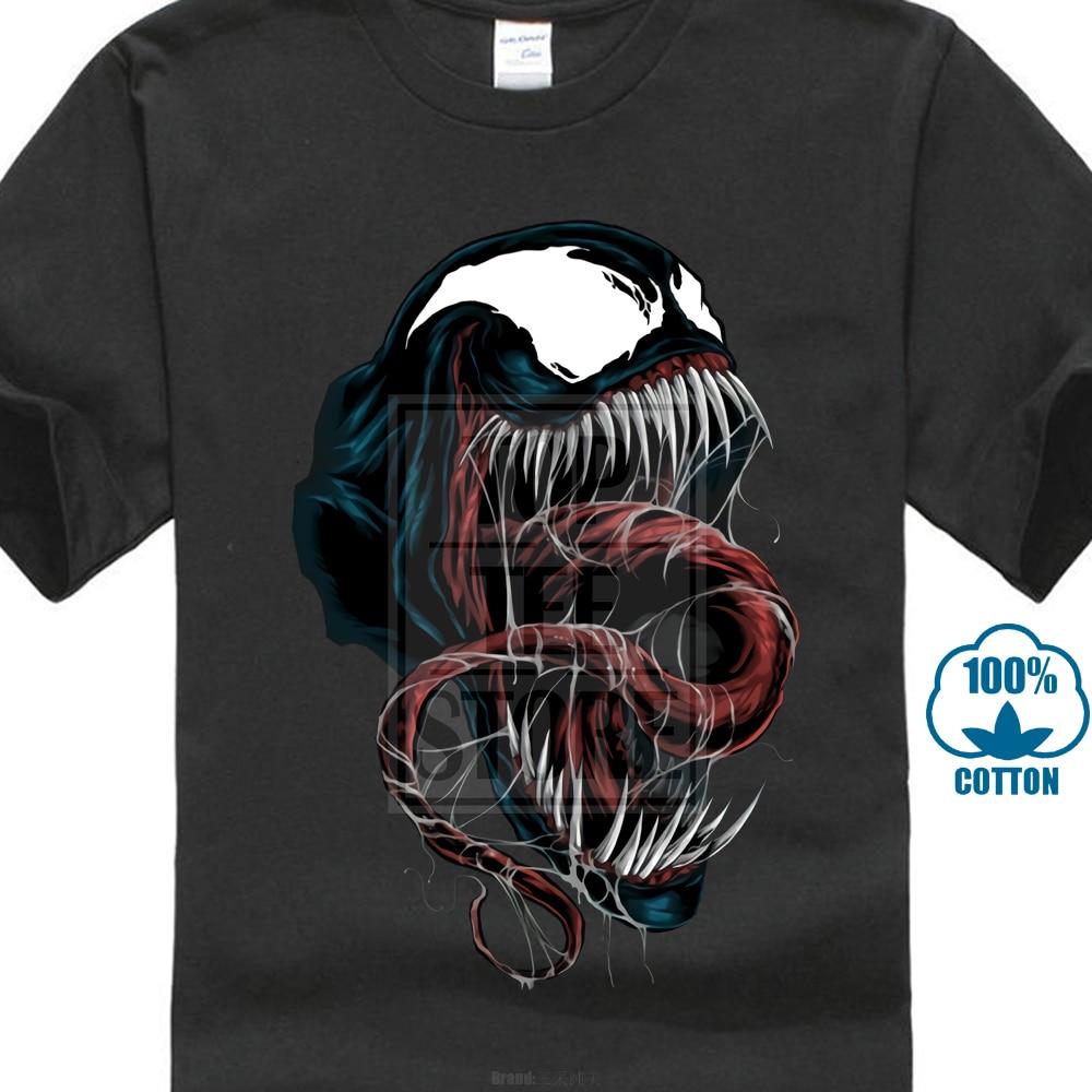Venom Unhinged T Shirt Rebel Men T Shirt Marvel Tops Comics Tees