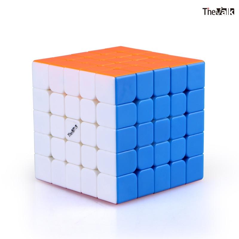 Cube néo professionnel 5x5x5 6.2cm vitesse pour Cubes Magico Puzzle Antistress autocollant Cubo Magico pour enfants jouets éducatifs pour adultes