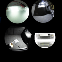Free Shipping Canbus Car LED Luggage compartment light For Caddy Campmob EOS Golf 5 6 Plus Jetta/Syncro Passat CC Polo 5D