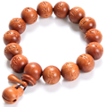 Lightning Wood Buddhism Prayer Beads Bracelets Om Mani Padme Hum Mantra Wooden Fish Tibetan Mala Bracelet Charms Men Jewelry