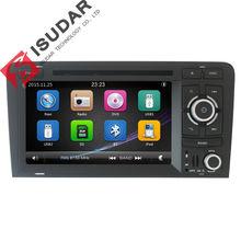 Dos Din 7 Pulgadas de Coches Reproductor de DVD Para Audi A3/S3 2002-2011 Radio de Canbus GPS Bluetooth 1080 P Navegación FM Mapa Marco Original
