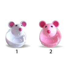 Hot Pet Toy Mouse Tumbler Pet Educational Toys Pet Leakage Device Funny Cat Interactive Toy Leaking Food Balls White/Pink on Aliexpress.com | Alibaba Group