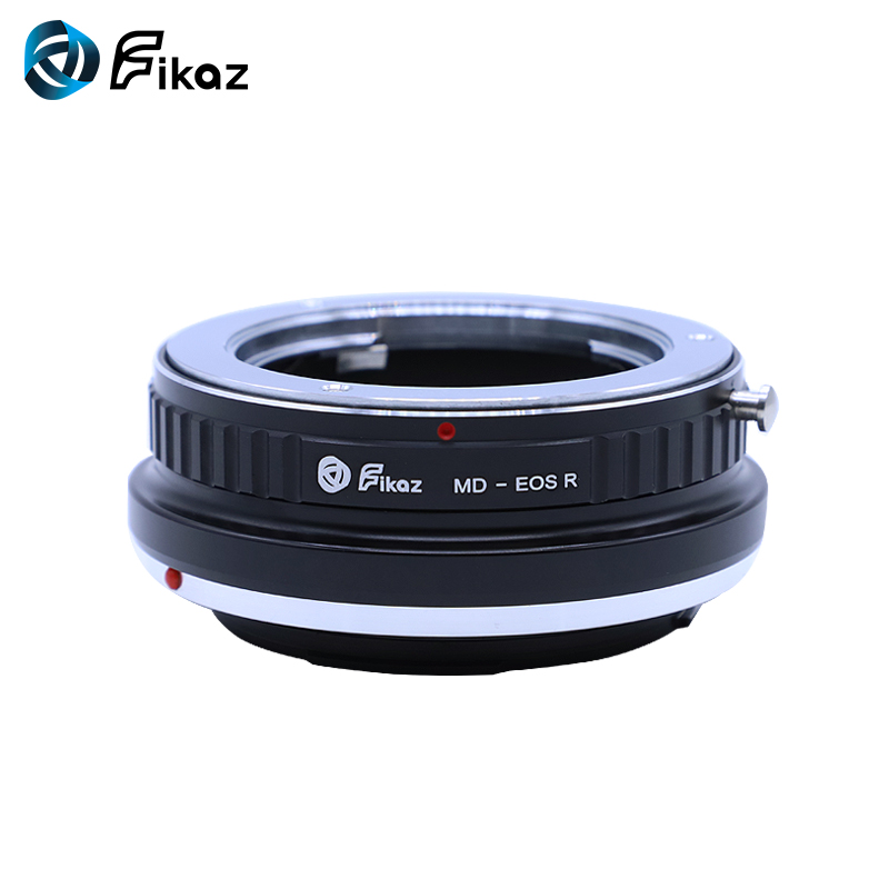 Fikaz pour MD-EOS R caméra adaptateur de montage d'objectif pour Minolta MD objectif à Canon EOS R RF caméra de montage