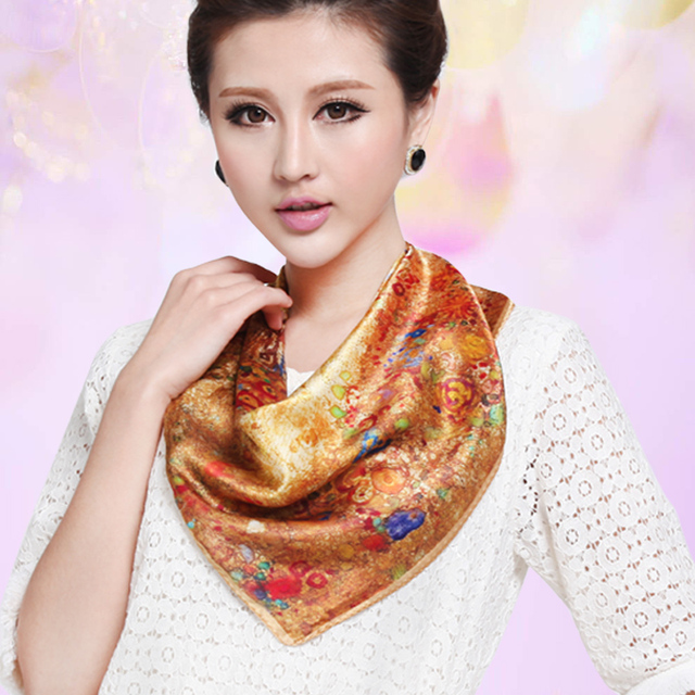 Шелк шарф компьютер шелк шарф шелк mulberry шарф коммерция женщины в шарф