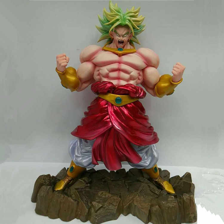 23 cm Brolly Dragon Ball Anime Japonês Figuras Kakarotto Vegeta Figuras de Brinquedo de Ação Pvc Coleção Modelo Para O Melhor Presente de Aniversário