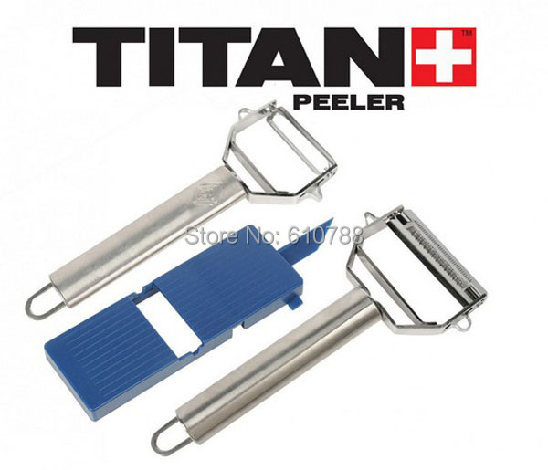 Incroyable Free Shipping High Quality 3in 1 Titan Peeler Wonder Vegetable Peeler  Multi Function Kitchen