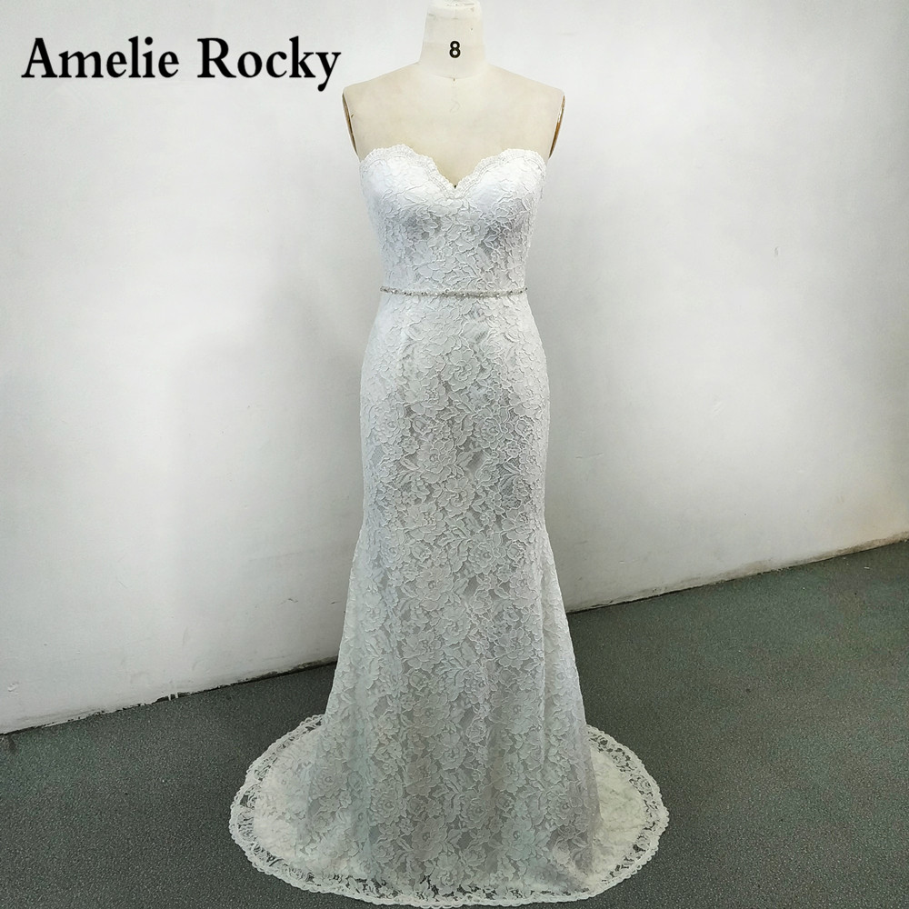 Cheap Wedding Dresses Colorado Springs: Aliexpress.com : Buy Sweetheart Lace Mermaid Wedding