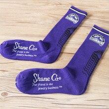High Quality European American Fashion Spring Men Socks Full Cotton Brand Long Socks Brand Socks Men/Women Free Shipping