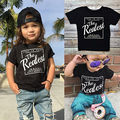 2017  New Cute Summer Tee Kids Baby Boy Casual Short Sleeve Tops Graphic T Shirt 1-6Y Black