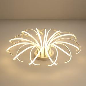 Image 5 - 거실 침실 현대 Led 천장 조명 화이트 컬러 알루미늄 avize AC85 265V lamparas 드 수첩 천장 램프 조명기구
