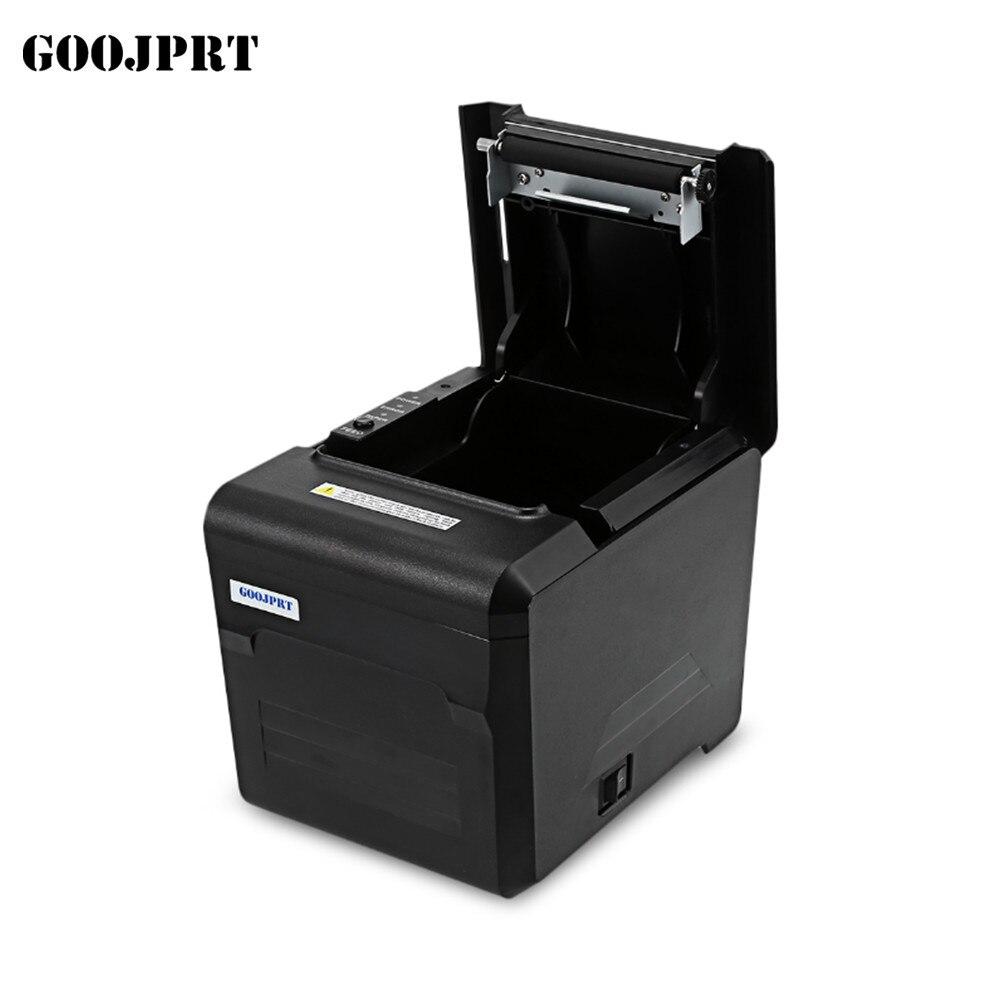 Бесплатная доставка Новинка 2018 года; оптовая продажа; новый бренд высокое качество 80 мм Термопринтер USB + LAN + Bluetooth порт принтера авто резак
