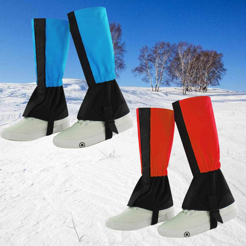 Waterproof Leg Gaiters Hiking Legging Outdoor Snow Climbing Walking Cover 1 Pair