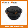 Black CNC Billet Rear Brake Cylinder Fluid Reservoir Cap Cover For KTM XC SXF SX EXC EXCR 125 150 200 250 350 400 500 525 530