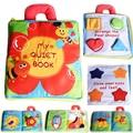 New Stereo Flores Bebê Brinquedos Hot Nova Infantil Crianças Precoce Desenvolvimento Pano Livros Livros de Aprendizagem Educação Brinquedos Presentes Criativos