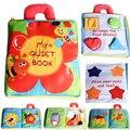 Nuevas Flores de la Estereofonia Juguetes Del Bebé Caliente Nuevo Bebé Niños Desarrollo Temprano Libros de Tela Juguetes Educativos de Aprendizaje Creativo Regalos de Libros