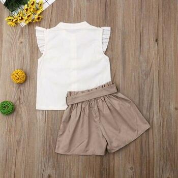 Pakaian Set Tshirt dan Celana Pendek  6