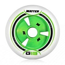MATTER Gi3 patines de velocidad en línea, rueda F1 de 110mm, 100mm, 90mm, pista de carreras G13, carreras de competición para Powerslide para MPC, 6 unidades