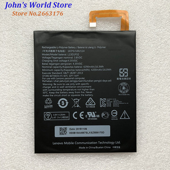 Per Lenovo 4290mAh L13D1P32 Batteria originale Li-Ion Per Lenovo Lepad A8-50 A5500 Tab S8-50