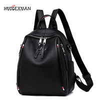 New Women Backpack Genuine Leather Fashion Causal Bags High Quality Cowskin Female Shoulder Bag Backpacks For Girls High Quality