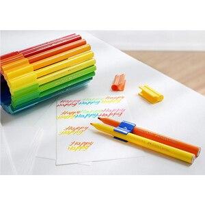 Image 3 - 80 Kleur Art Marker Pen Connector Fibre Tip Pen Kids Water Kleur Pen Aquarel Colouring Tekening Pennen Voor Kinderen Doodling