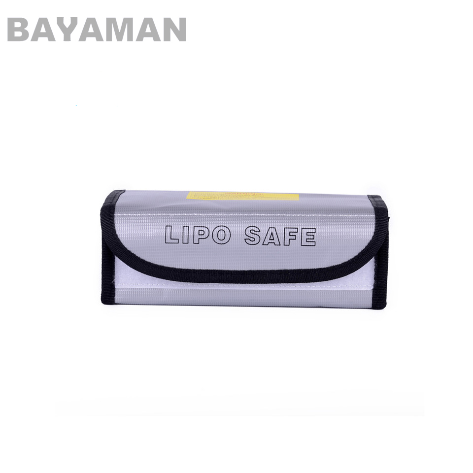 1pc LiPo Battery Safety Bag Safe Guard Charge Sack Explosion-proof Bag Large 185 x 75 x 60mm