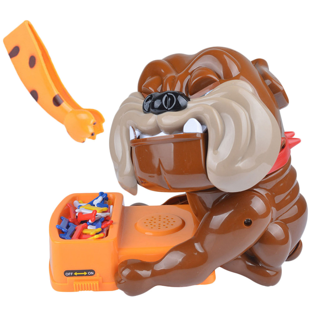 Besegad Funny Bad Dog Bones Action Games Toy Don't Wake The Dog Bite Finger Parent-child Game Tricky Toy
