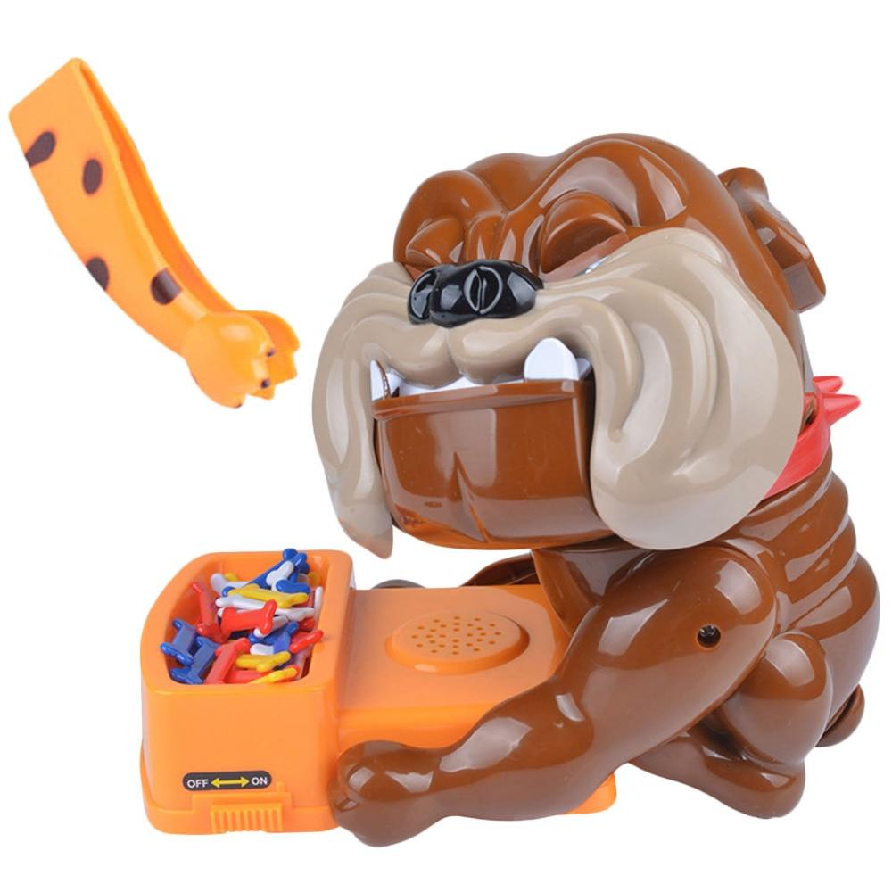 Besegad Funny Bad Dog Bones Action Games Toy Don't Wake The Dog Bite Finger Parent-child Game Tricky Toy