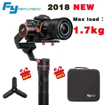 FeiyuTech Feiyu A1000 3 осевой карданный стабилизатор для a6500 a6300 iPhone 7 Plus 8 Plus, Sumsung GoPro Hero 5, шесть вариантов