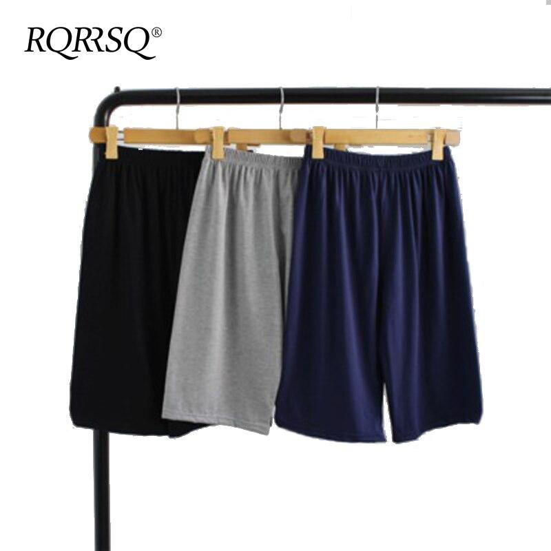 Men's Cotton Boxers Pajama Short Trousers Casual Men Solid Comfortable Underwear Pajamas For Man Home Sleepwear Sleep Bottoms