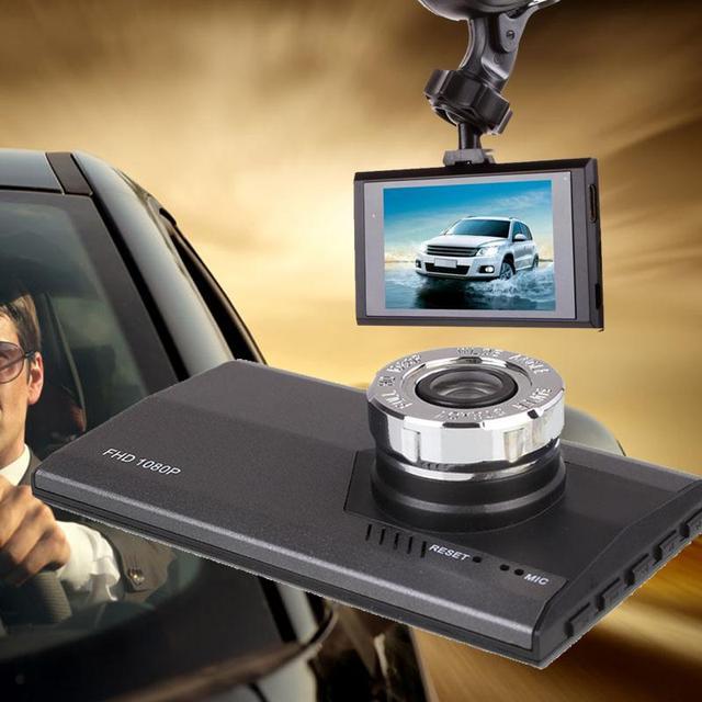 """3 """"дюймовый 720 P HD Автомобильный ВИДЕОРЕГИСТРАТОР G-sensor Motion detection Mini Video Cam Видеокамера Автомобиля/День использования С Фиксированной Присоски"""