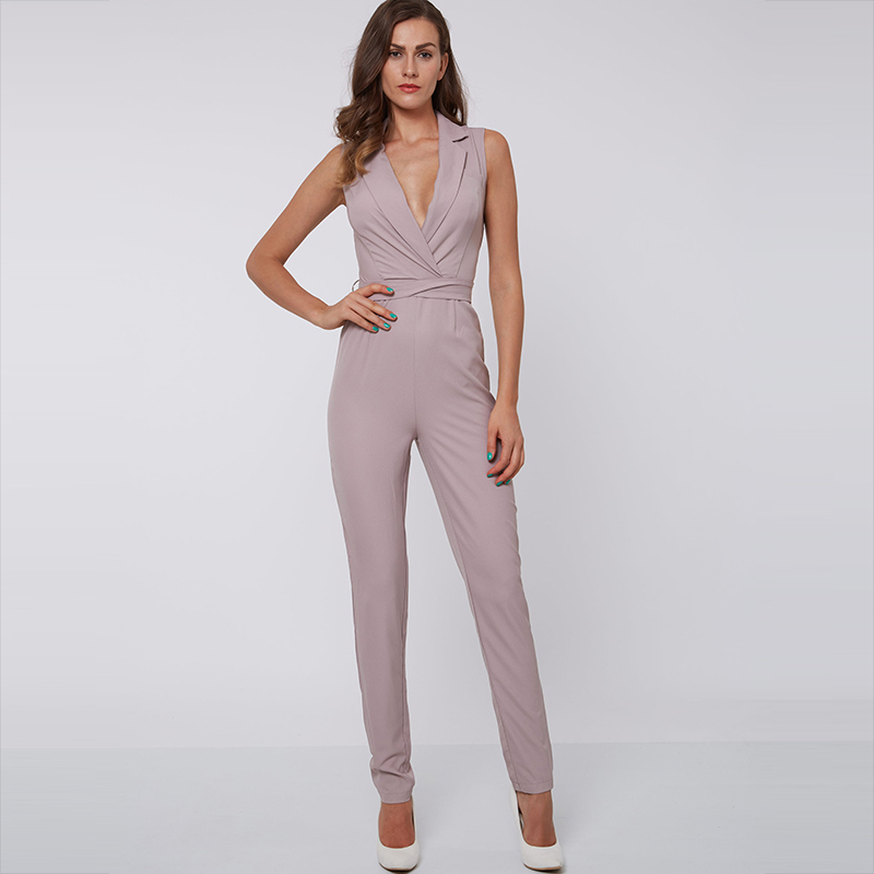 Sexy evening jumpsuit
