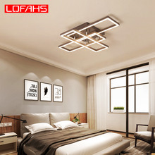 купить LOFAHS modern led chandelier for living room bedroom kitchen lighting Indoor deco ceiling chandelier Postmodern lamp lustres по цене 8616.86 рублей