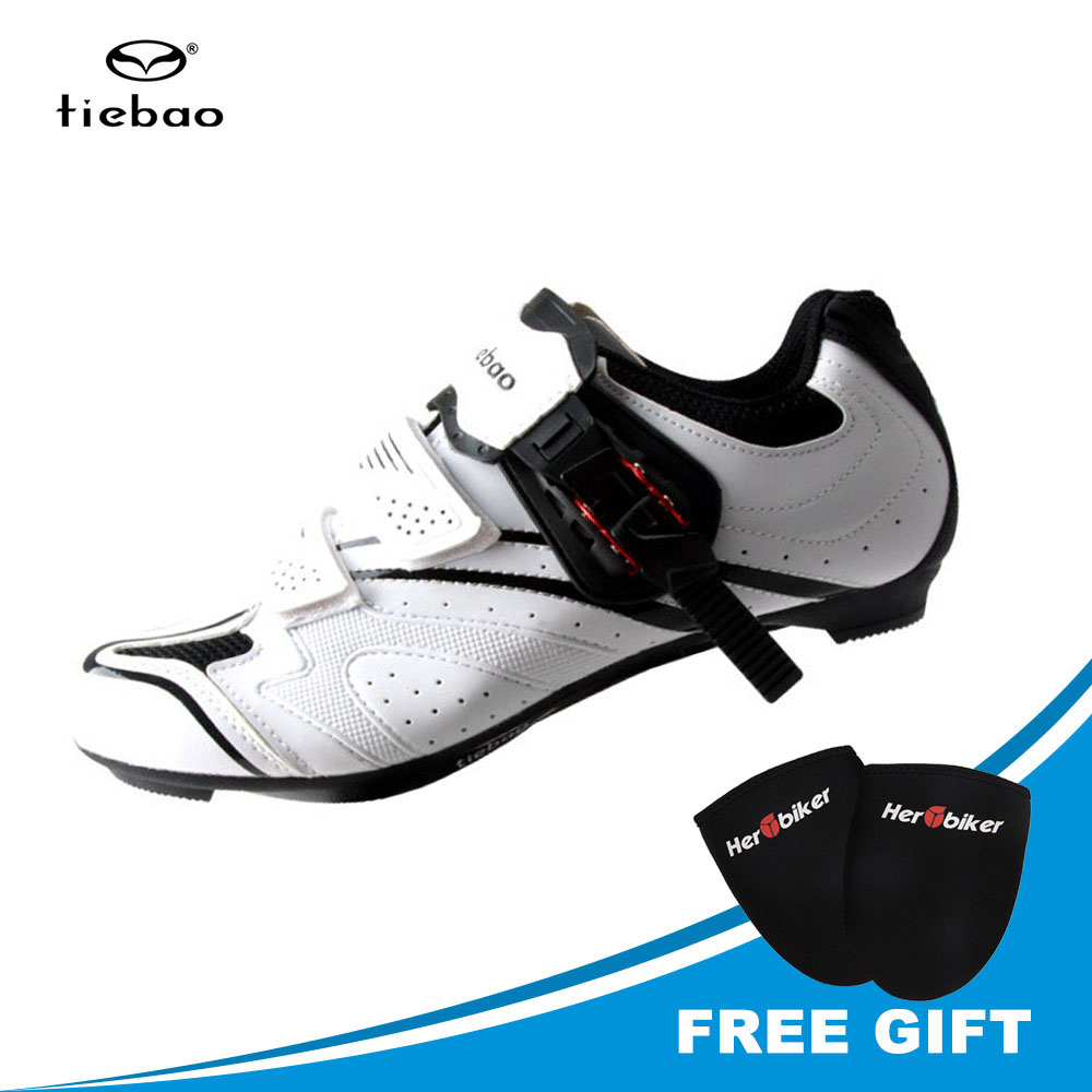 TIEBAO 2017 New Autumn Cycling Shoes Road Self-locking Road Bike Shoes Breathable Non-slip Bicycle Carbon Road Shoes santic new design cycling shoes men outdoor road bike shoes self locking shoes non slip bicycle shoes sapatos with 3 colors