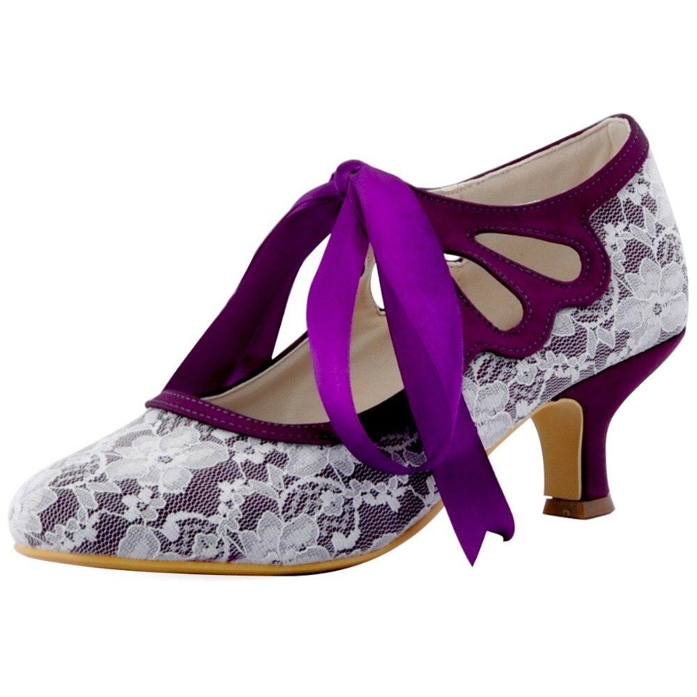 Contemporáneo Zapatos De Tacón Alto Para El Vestido De Novia Friso ...