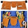 Инструмент для труда  карман из воловьей кожи  наружная подвесная сумка для воздушной работы  кобура  инструментарий  инструмент для электр...