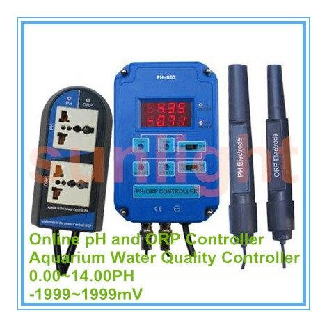 Aquarium Online pH und ORP Controller mit 3,50 ~ 10.50PH und 500 ~ 500mV Steuerung Palette-in PH-Meter aus Werkzeug bei AliExpress - 11.11_Doppel-11Tag der Singles 1