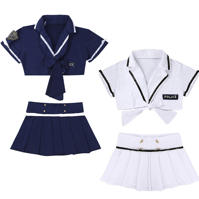 Sexy Police Uniform Role Play Costume #C1531 4