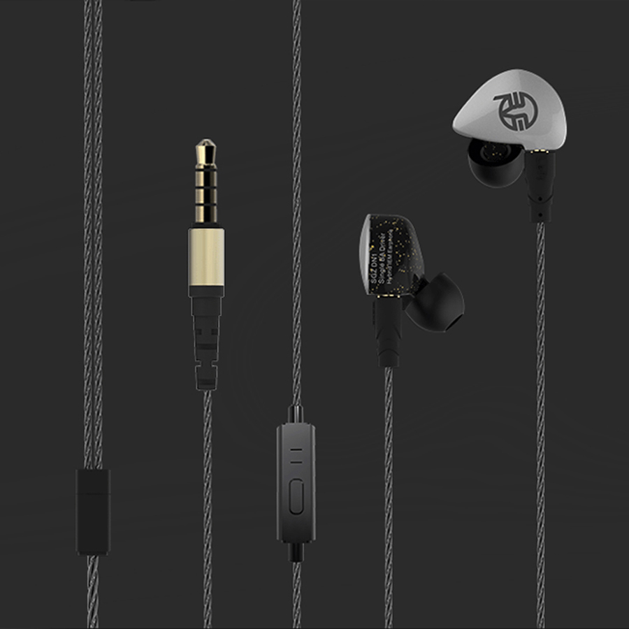 DD+BA MMCX DIY SE215 Headset Hifi Stereo Bass In-Ear Earphone Noise Cancelling Replaceable headphone Cable for shure SE535 SE846 senfer dt2 plus headphones1dd 2ba hybrid hifi in ear earphone ie80 ie800 ie8i style for shure se215 se535 se846 ue900 mmcx cable