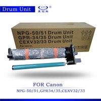 Unidade do tambor NPG-50/51 GPR-34/35 CEXV32/33 compatível para IR2520 2525 2530 unidade de imagem