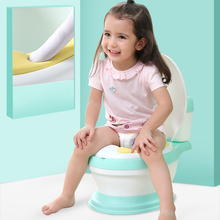 New design hot selling portable toilet for baby potty free brush+ cleaning bag
